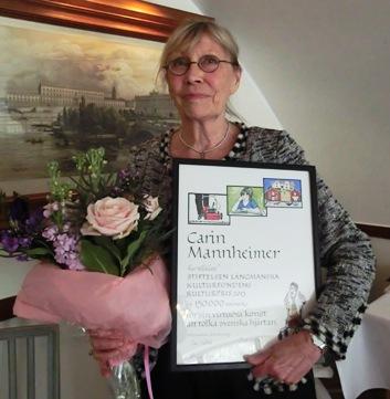 Prisutdelningen 2013-05-23 på Wärdshuset Ulla Winbladh