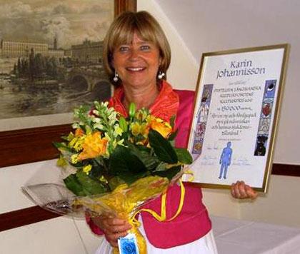 Prisutdelningen 2010-06-09 på Wärdshuset Ulla Winbladh