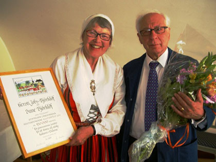 Prisutdelningen 2011-05-31 på Wärdshuset Ulla Winbladh